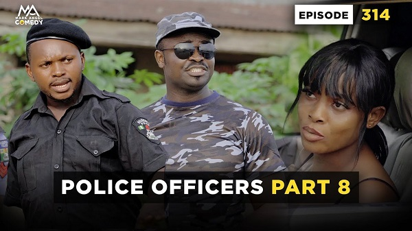 POLICE OFFICERS PART 8 - Episode 314 (Mark Angel Comedy) Mp4 Download