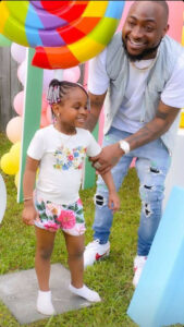 Singer, Davido shares hilarious chat he had with his second daughter, Hailey