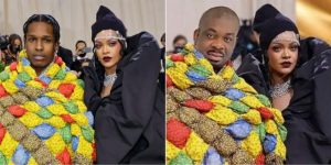 Don Jazzy crops out Rihanna's lover, Photoshops himself beside the US singer (Photo)